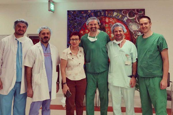 Ексклузивна интервенција изведена при Одделот за Урологија и Абдоминална Хирургија во ПЗУ Ре-Медика